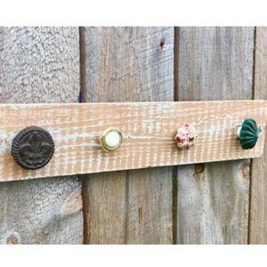 Jewelry - Handmade Knob Wood Jewelry Hanger/Jewelry Holder